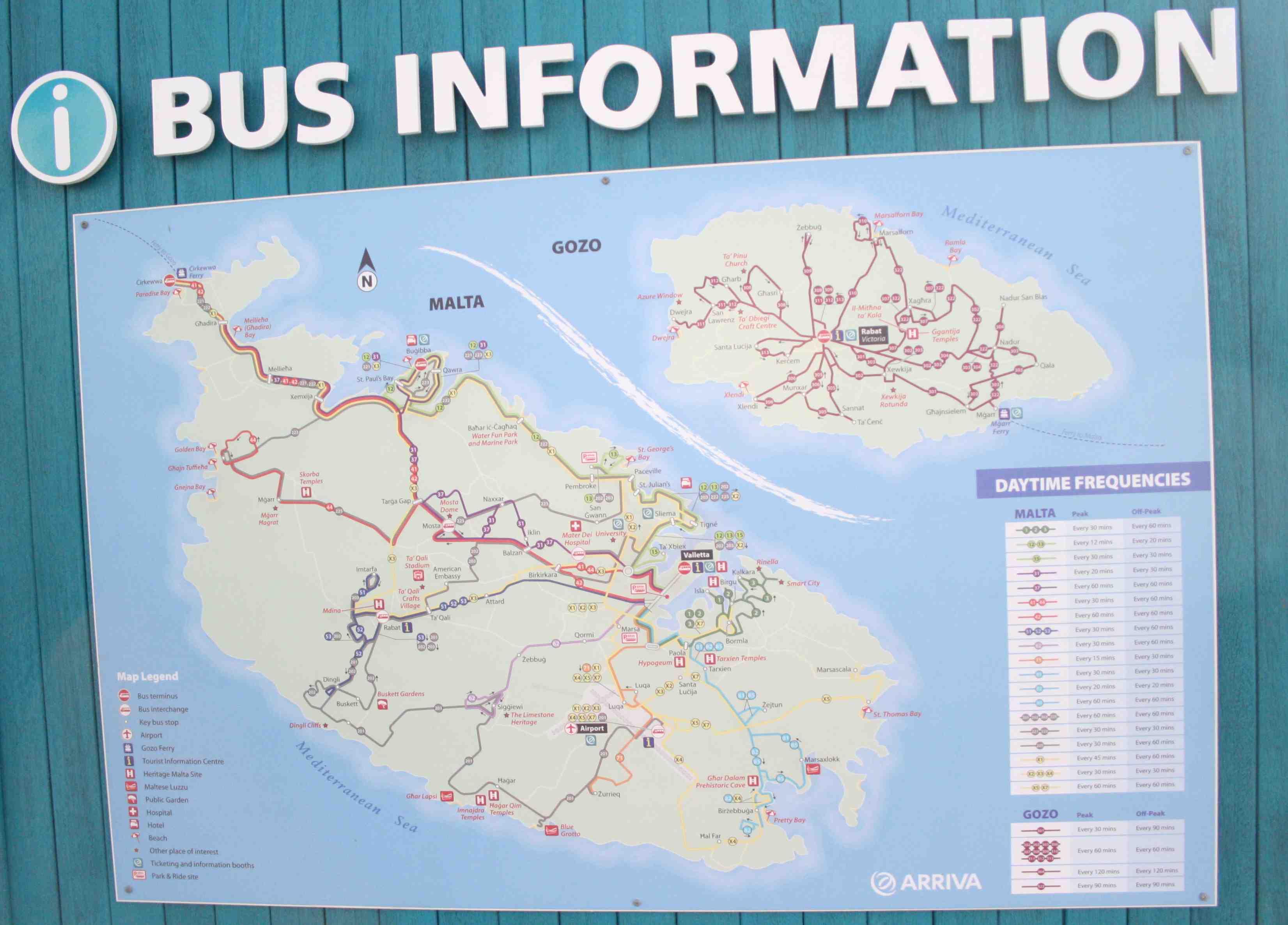 Autobuses en Malta
