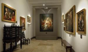 Una de las salas del Museo Wignacourt en Rabat.