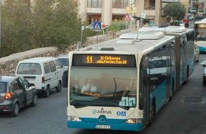 Los nuevos autobuses de Malta.