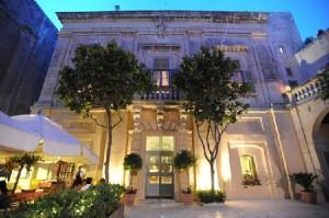 Hotel de lujo Relais Chateux en Mdina.