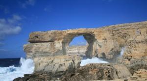 Espectacular fotografia de la Azure Window, imagen de Gozo. Foto de Guía Isla Malta.