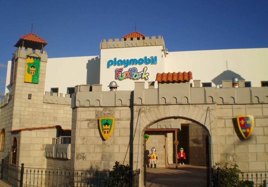 Aunque no es el Funpark de Playmóbil más grande del mundo, si van a Malta, no duden en llevar a sus pequeños. Foto de Eva Paris.