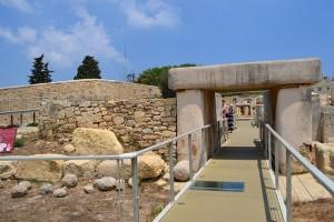 En la Foto el yacimineto megalítico de Tarxien. Foto de Paradasos.