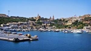 Puero de Mgarr. Coqueto y práctico, la puerta de la isla de Gozo. Foto de  patrickbaud79.