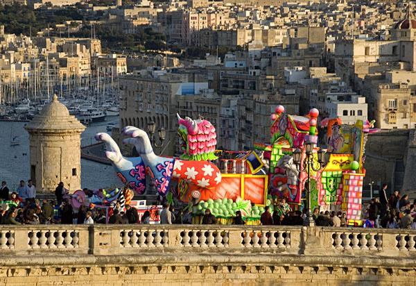 La fiesta de Carnavales en Malta