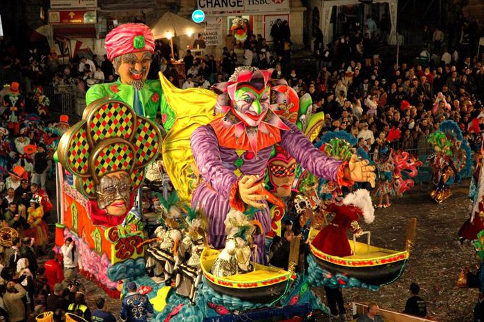 Carrozas del Carnaval de Malta
