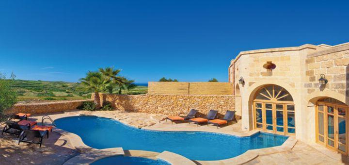 Casas Rurales en Malta y Gozo con piscina